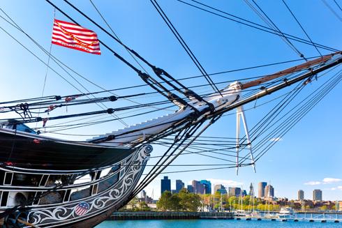 אניית מלחמה היסטורית. לכאן הגיעו ראשוני המהגרים מבריטניה (צילום: Shutterstock)