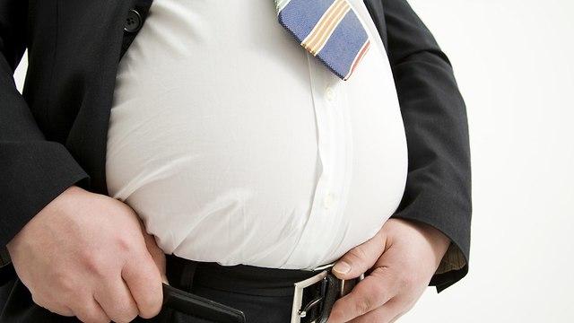 אילוס אילוסטרציה השמנה השמנת יתר (צילום:  shutterstock)