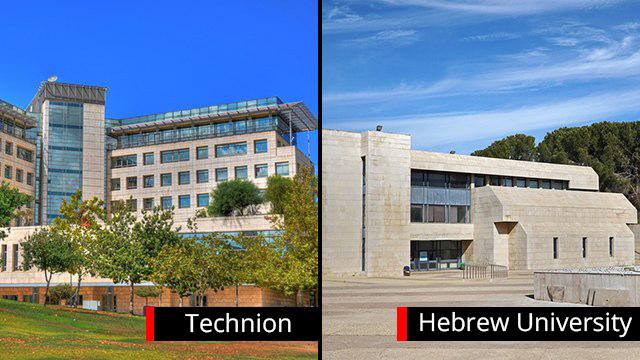 Prominent Israeli universities (Photo: Shutterstock)