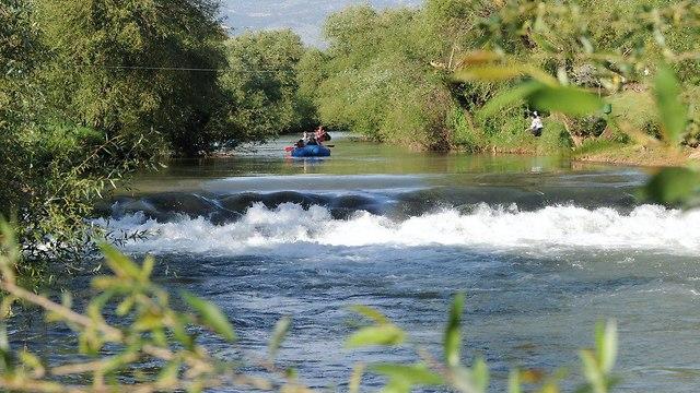 נהר הירדן (צילום: אפי שריר)