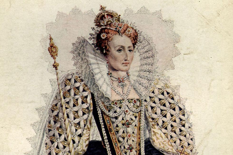 """המלכה אליזבת הראשונה. """"אני עצמי אצא למלחמה, אני עצמי אנהיג את הצבא"""" (צילום: GettyimagesIL)"""