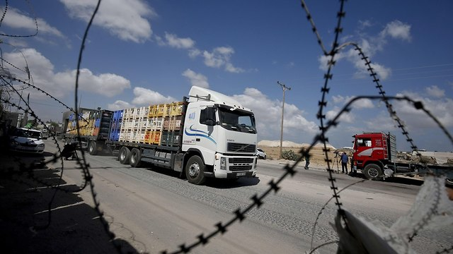 Kerem Shalom border crossing  (Photo: AFP)