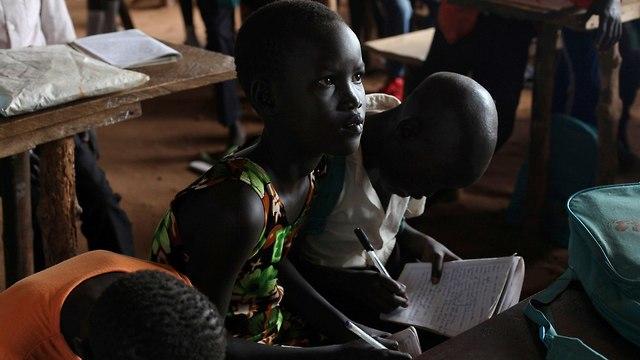 תלמידים סודן (צילום: רויטרס)