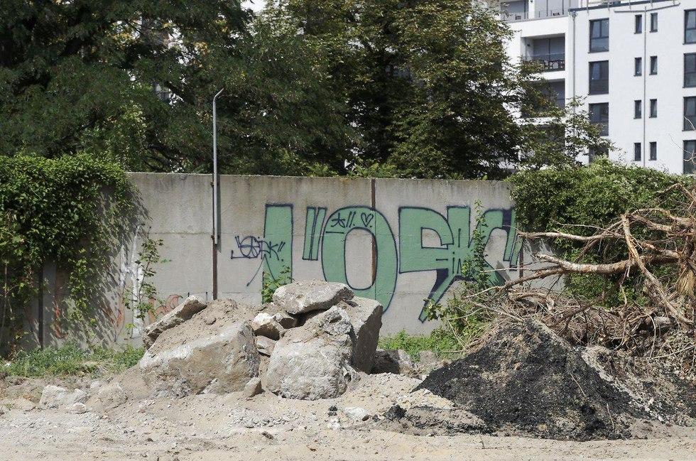 חומת ברלין (צילום: AP)