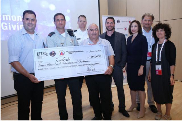 על הפיתוח זכתה החברה בפרס מטעם משרד ההגנה האמריקאי ומשרד הביטחון. CardioScale ()