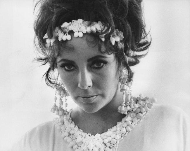 האישה עם העיניים הכי יפות בעולם. אליזבת טיילור (צילום: Getty Images Imagebank)