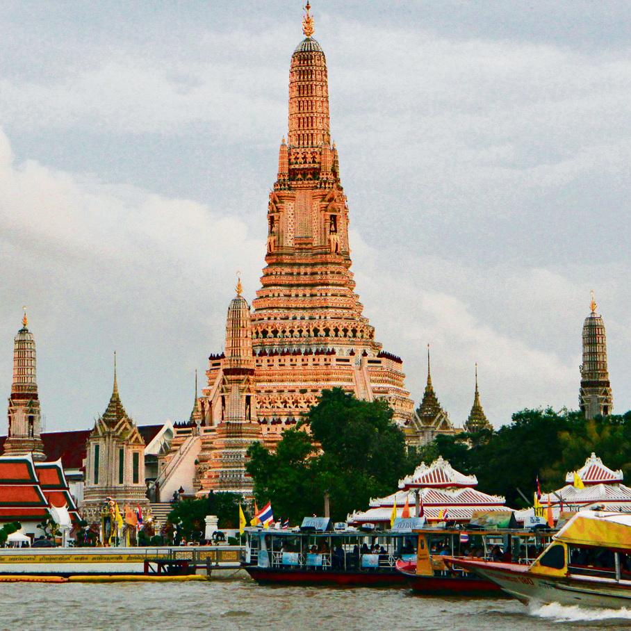 המקדש הבודהיסטי ואט ארון בבנגקוק