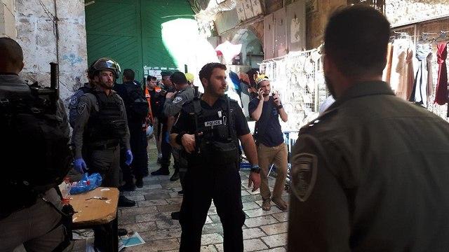 Officers at the scene (Photo: TPS/ Daniel Gilo)