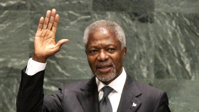 Кофи Аннан. Фото: AFP