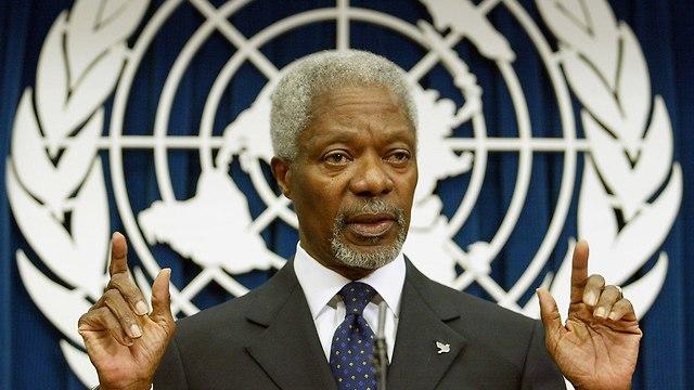 Аннан. Фото: AFP