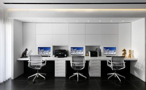 הבית הוא גם המשרד (צילום: אלעד גונן)