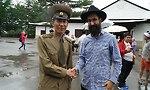 מאיר אלפסי, חסיד בצפון קוריאה (צילום: מאיר אלפסי)