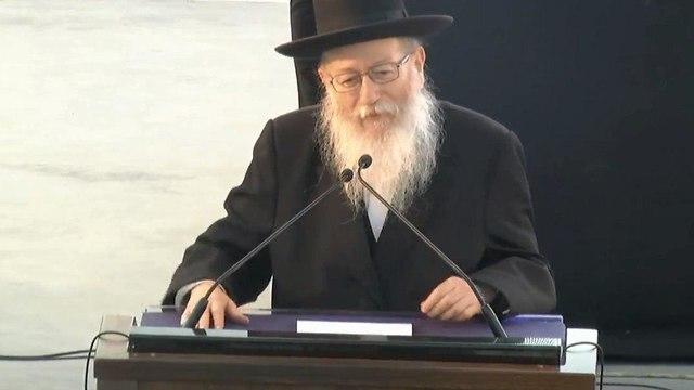 Yaakov Litzman (Photo: Amit Huber)