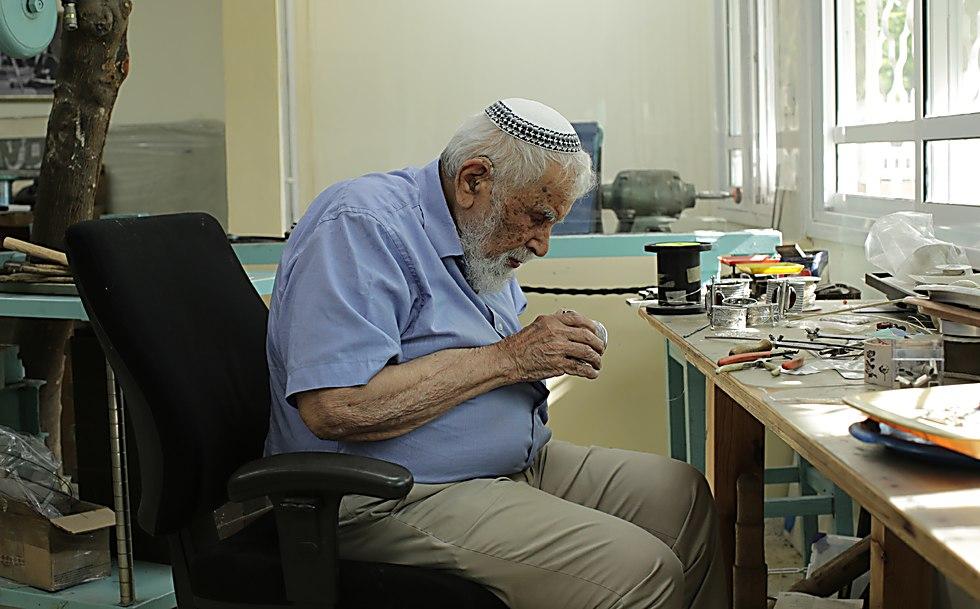 משה בן דוד (צילום: אחיקם בן יוסף, האוסף הלאומי הדיגיטלי, הספרייה הלאומית)