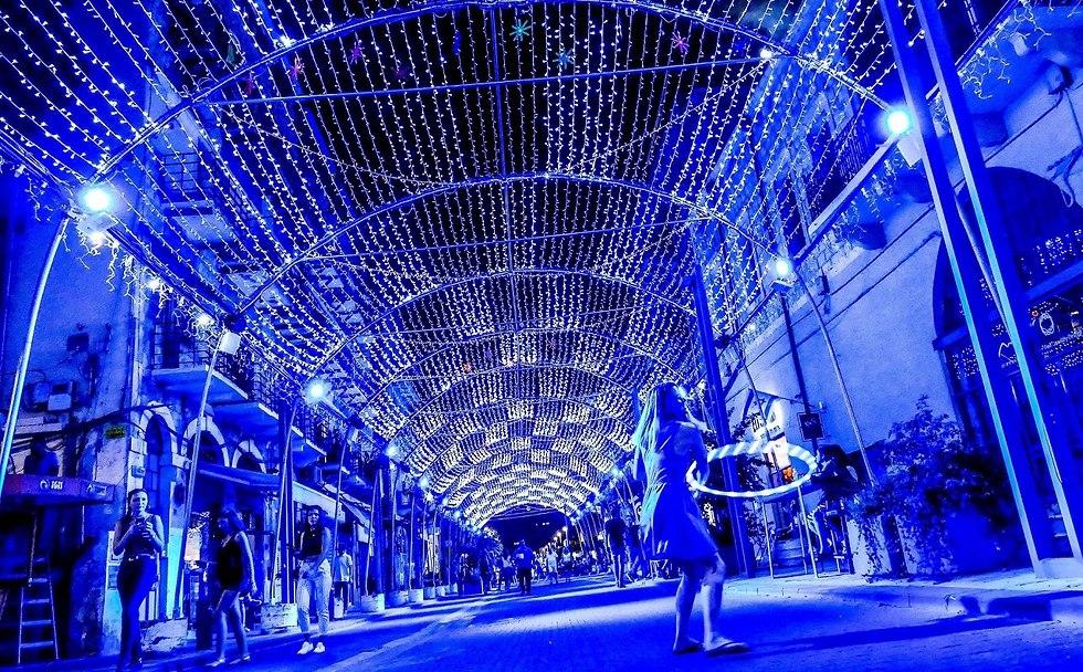 מופע של אורות וקולות (צילום: צבי רוגר)