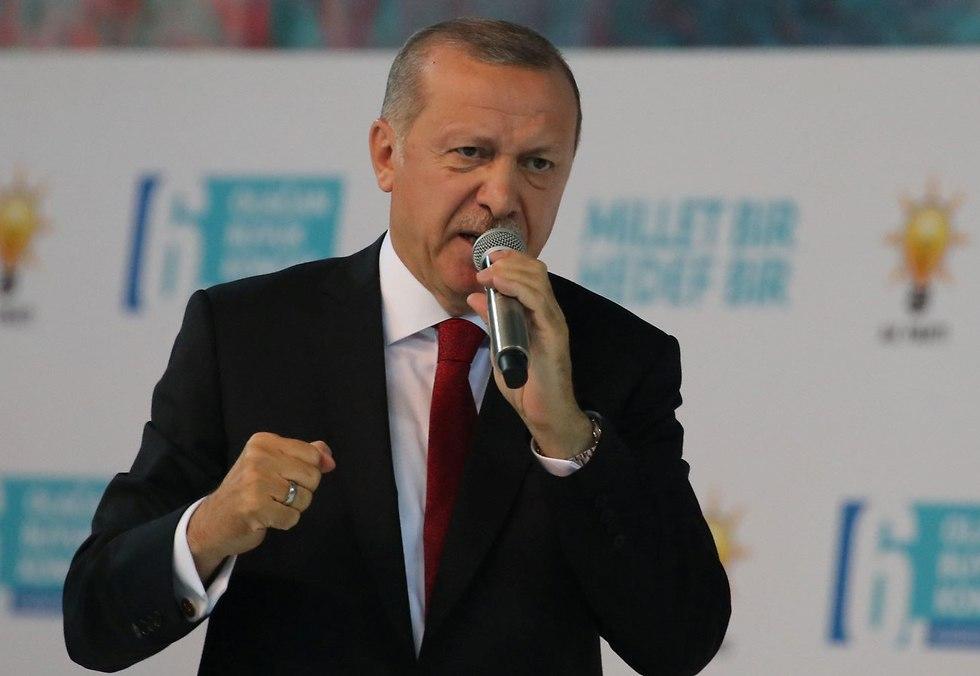 נשיא טורקיה רג'פ טאיפ  (צילום: רויטרס)