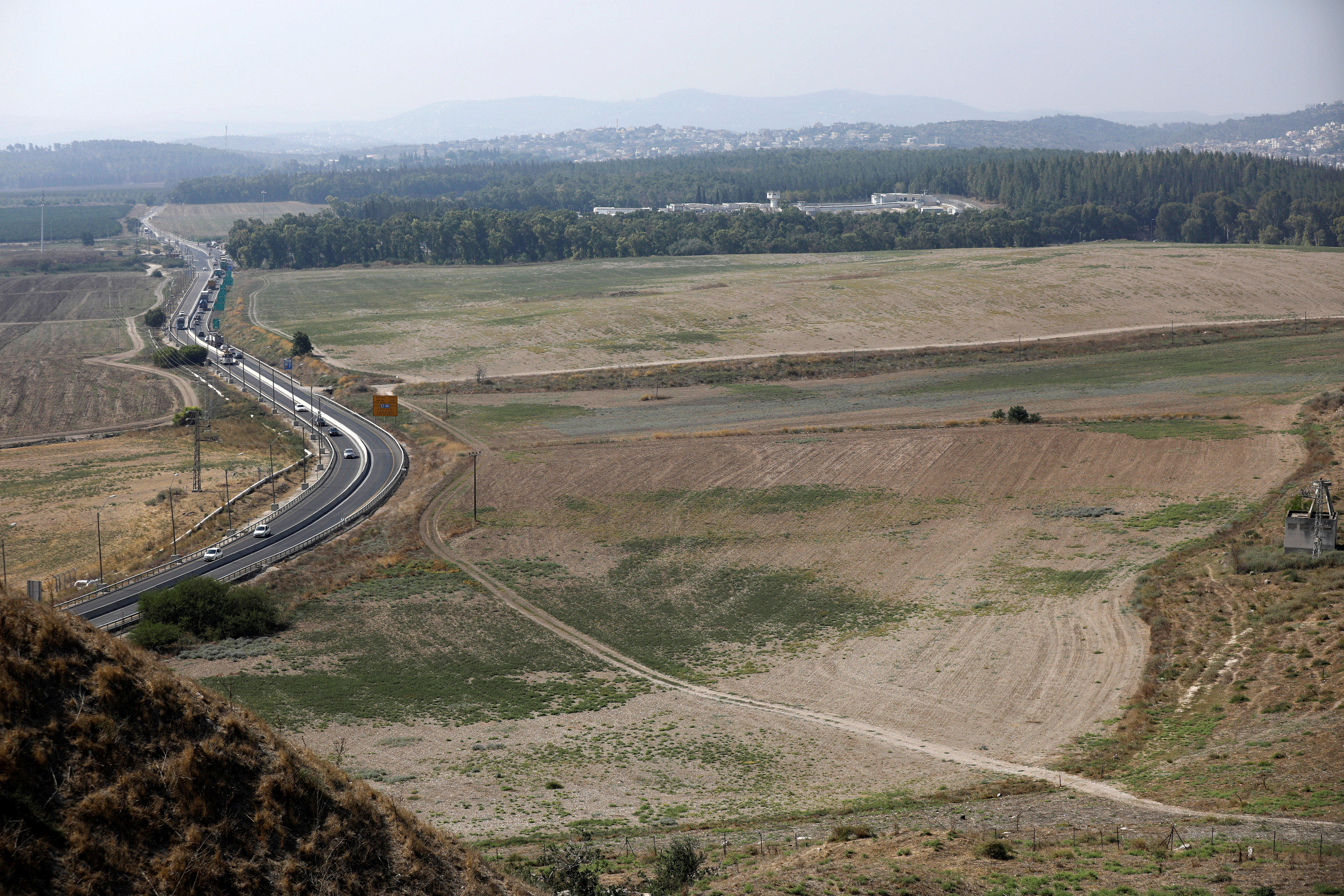 View from the excavation site (Photo: Reuters)