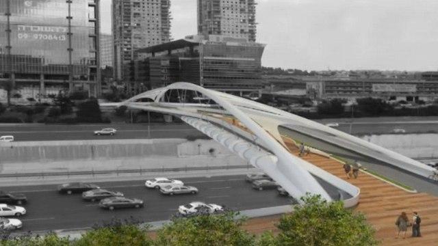 גשר יהודית בתל אביב ()