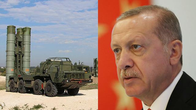 S-400 missiles; Erdogan (Photo: AFP, Reuters)