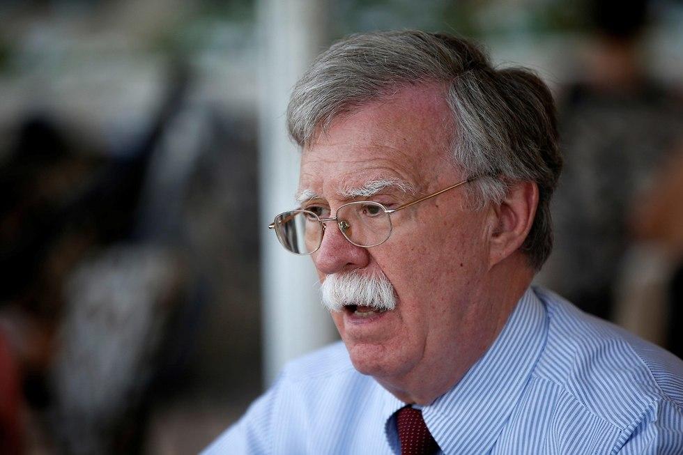ג'ון בולטון ג'ון רוברט בולטון יועץ לביטחון לאומי דונלד טראמפ (צילום: רויטרס)