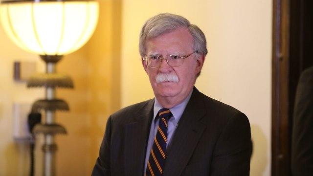 US National Security Adviser John Bolton  (Photo: Amit Shabi)