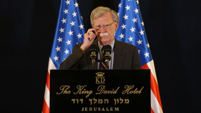 John Bolton (Photo: Amit Shabi)