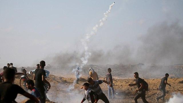 Gaza protest (Photo: Reuters)