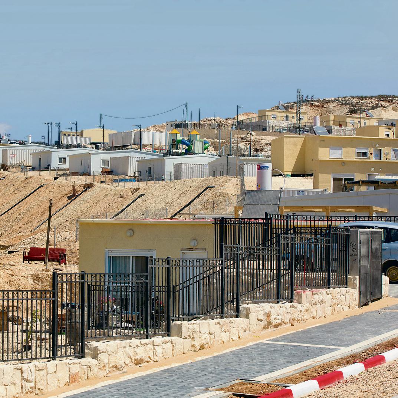 60 מגרשים כבר מוכנים למגורים בעמיחי ואושר פיתוח תשתית ל– 42 נוספים
