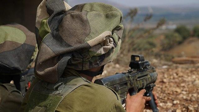חטיבת גולני בתירגול שבוע לחימה נגד אויב המדמה את חיזבאללה (צילום: דובר צה
