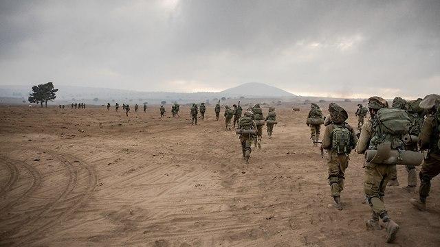 Golani ground troops (Photo: IDF Spokesman)