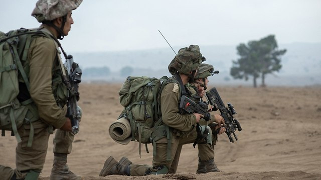 Golani troops train for battle (Photo: IDF Spokesman)