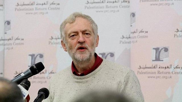 Джереми Корбин на конференции в Лондоне. 2013 год