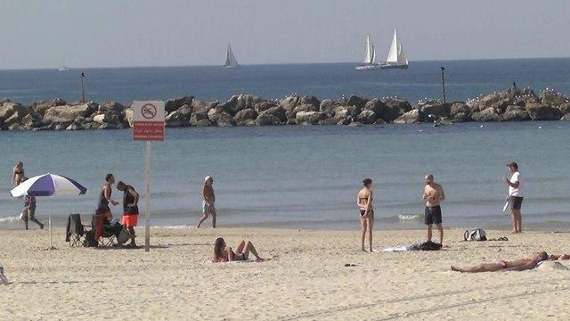 Tel Aviv's beaches (Photo: Lihy Krupnik)