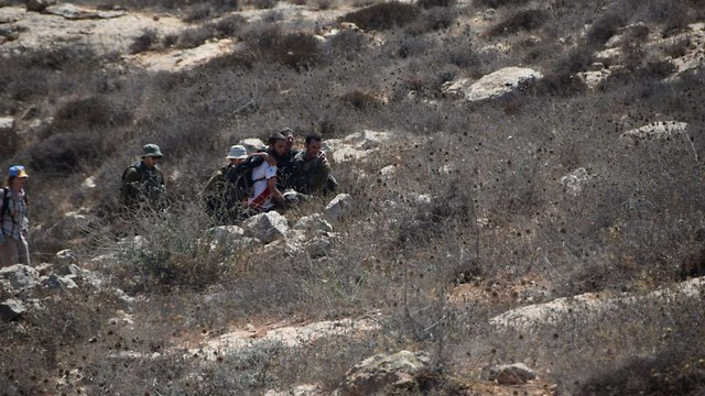 Clashes in Mitzpe Yair