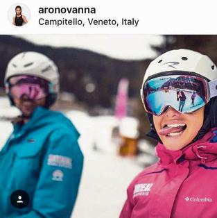 אנה ארונוב באלפים האיטלקיים