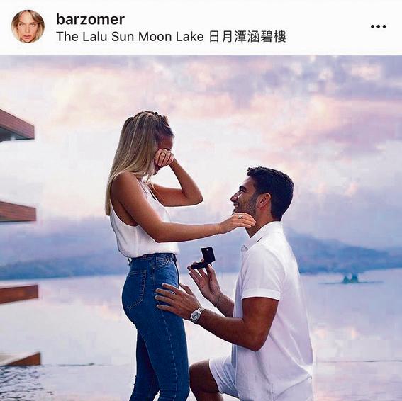 האירוסים של אביב כהן ובר זומר בטאיוואן