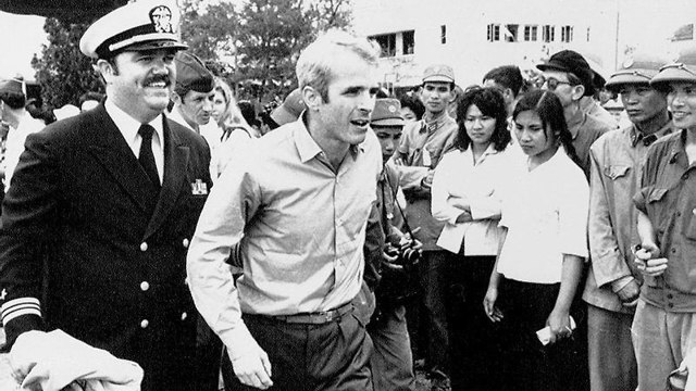 McCain upon release frmo a POW in 1973 (Photo: AP)