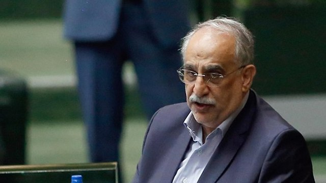 Iranian finance minister Masoud Karbasian  (Photo: EPA)