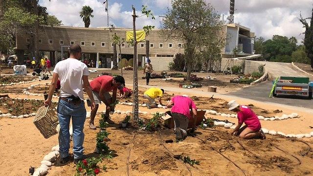 Rehabilitación de Kerem Shalom