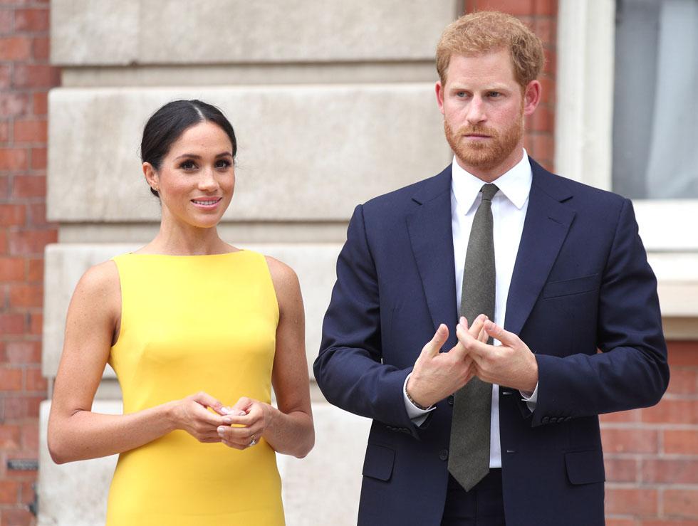 זינקה מיד למעמד של אחת המתלבשות הטובות בעולם. מייגן מרקל והנסיך הארי (צילום: Yui Mok/GettyimagesIL)