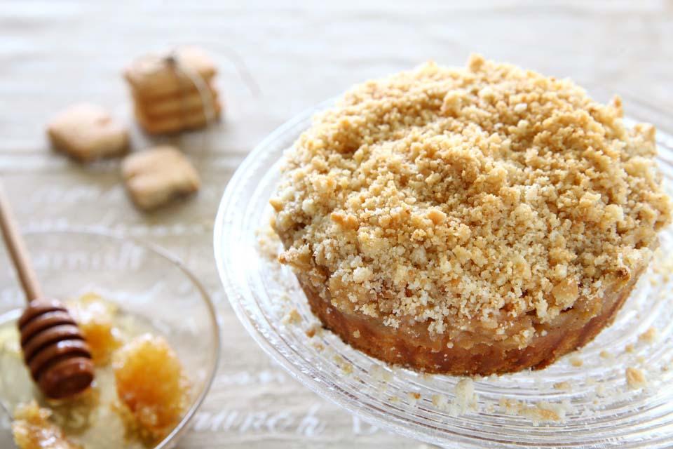 Яблочный пирог с крошкой. Фото: пресс-служба