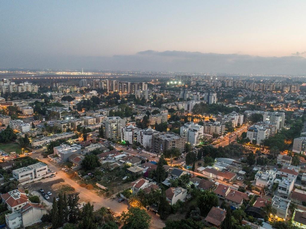 יהוד מונוסון צילום אוויר (צילום: באדיבות עיריית יהוד-מונוסון)
