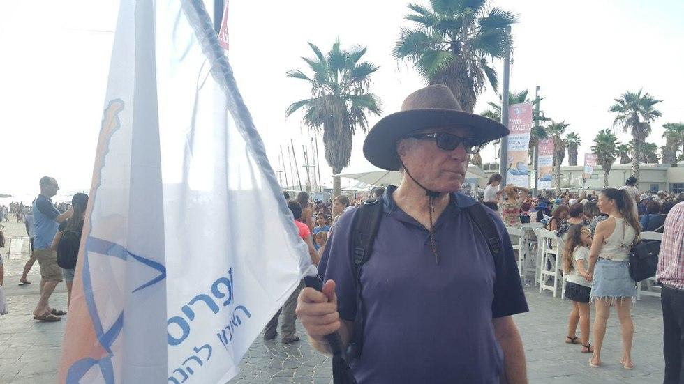 דודו יוגב, נולד במחנה ההעפלה בקפריסין (צילום: איתי שיקמן)