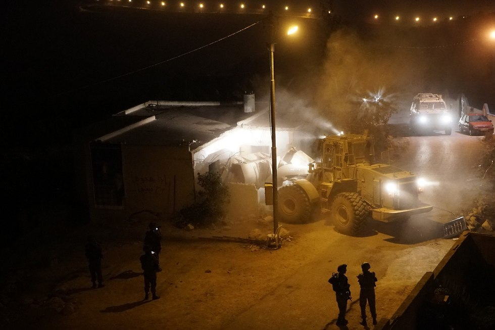 IDF troops in Kobar (Photo: IDF spokesman)