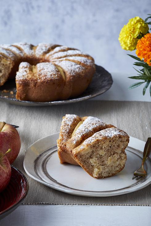 עוגת תפוחים בחושה מאיטליה (צילום: אפיק גבאי)