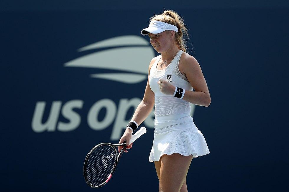 יוליה גלושקו אליפות ארצות הברית (צילום: AFP)