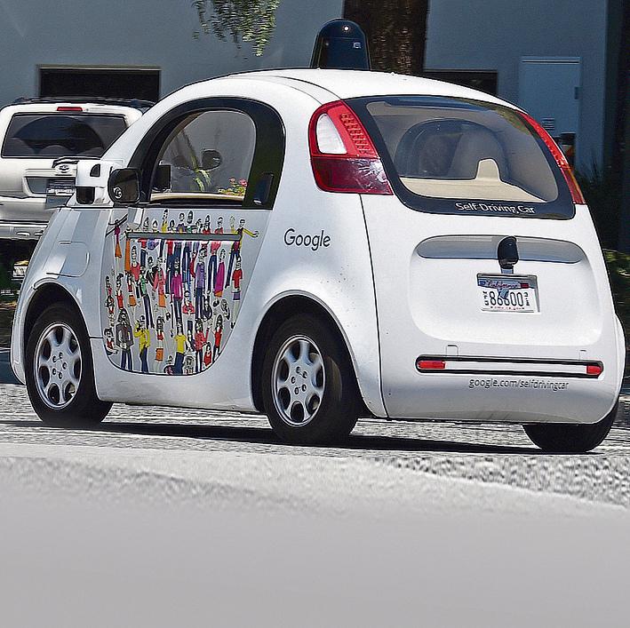המיזם המוביל. המכונית האוטונומית של גוגל