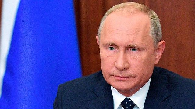 נשיא רוסיה ולדימיר פוטין ריכוך רפורמה פנסיה (צילום: AP)
