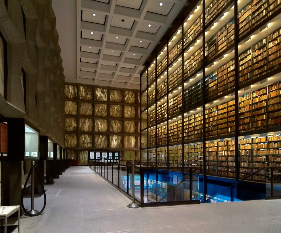 Beinecke Rare Book & Manuscript Library (צילום: Gunnar Klack, ויקיפדיה)