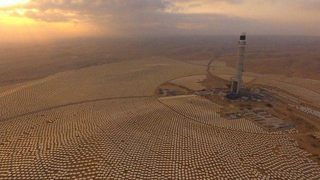 Ashalim power station (Photo: Adir Ben Hamo)